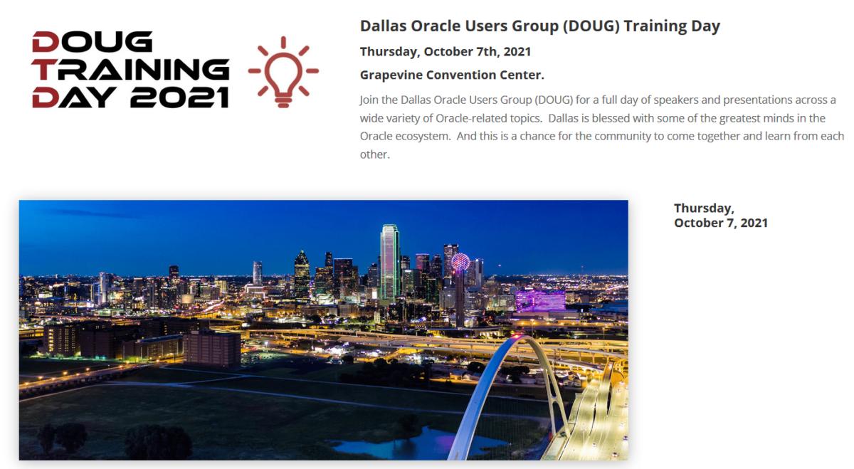 Dallas Oracle User Group 2021 – Oracle EM 13c Snap Clone